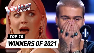 Blind Auditions of every WINNER of The Voice 2021 so far